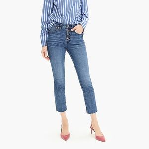 J. Crew Vintage Straight Eco Jean with Button Fly